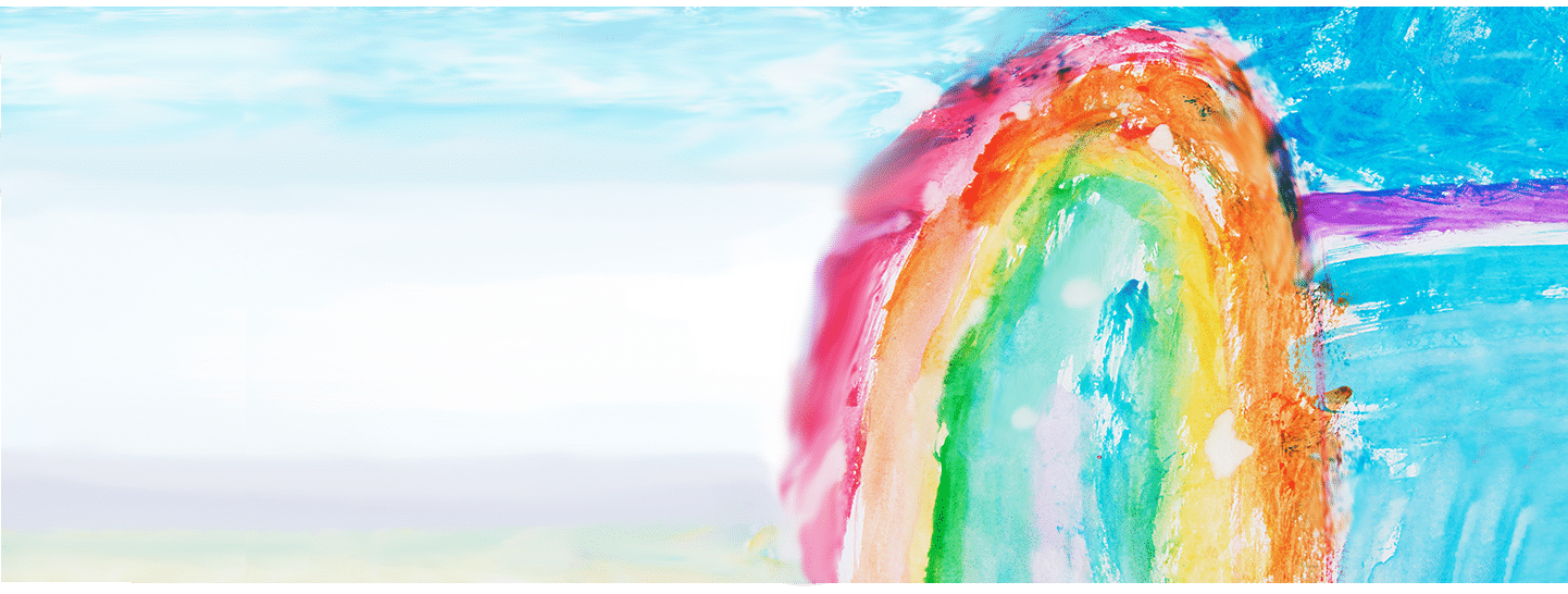 Rainbow Art Background