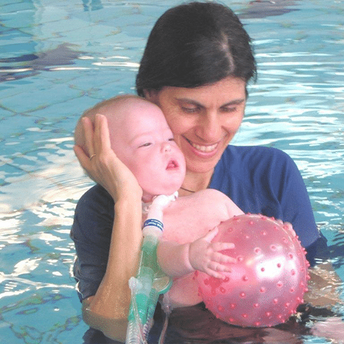 Child in the Water Rehabilitating