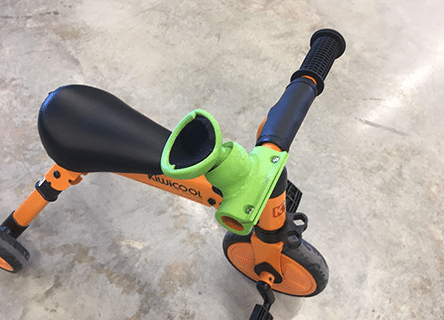 Handlebar Grip For Child With No Hand